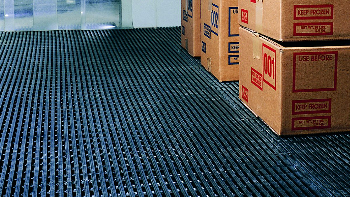 Matting for commercial refrigeration