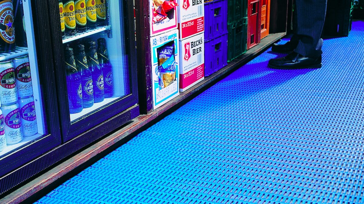 Plastex hospitality matting is perfect for bars, hotels and restaurants