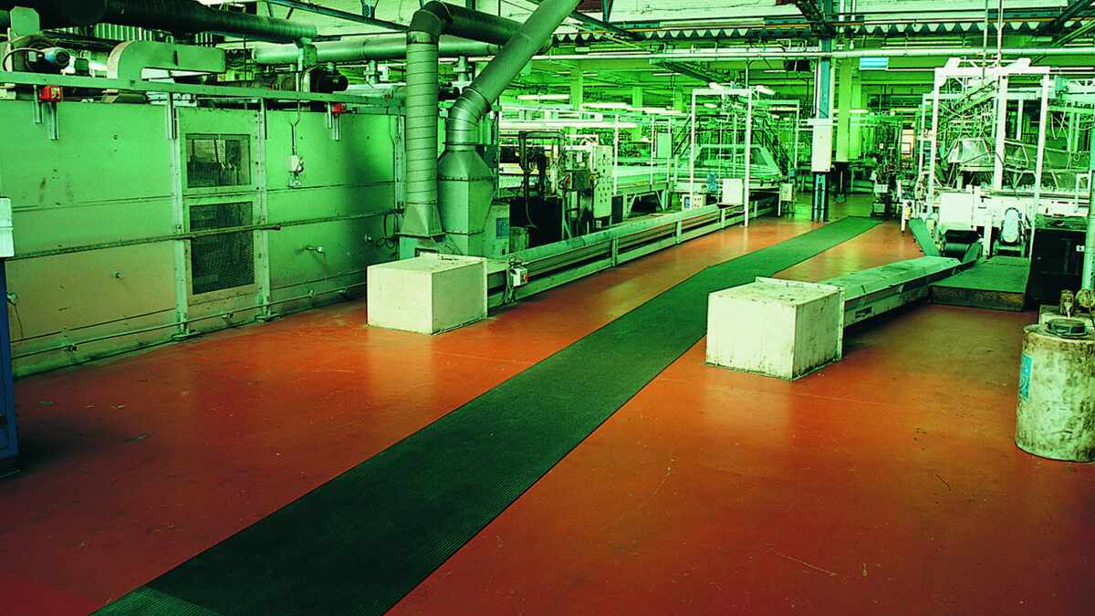 Plastex surface protection matting is designed to withstand heavy weights and daily wear and tear.