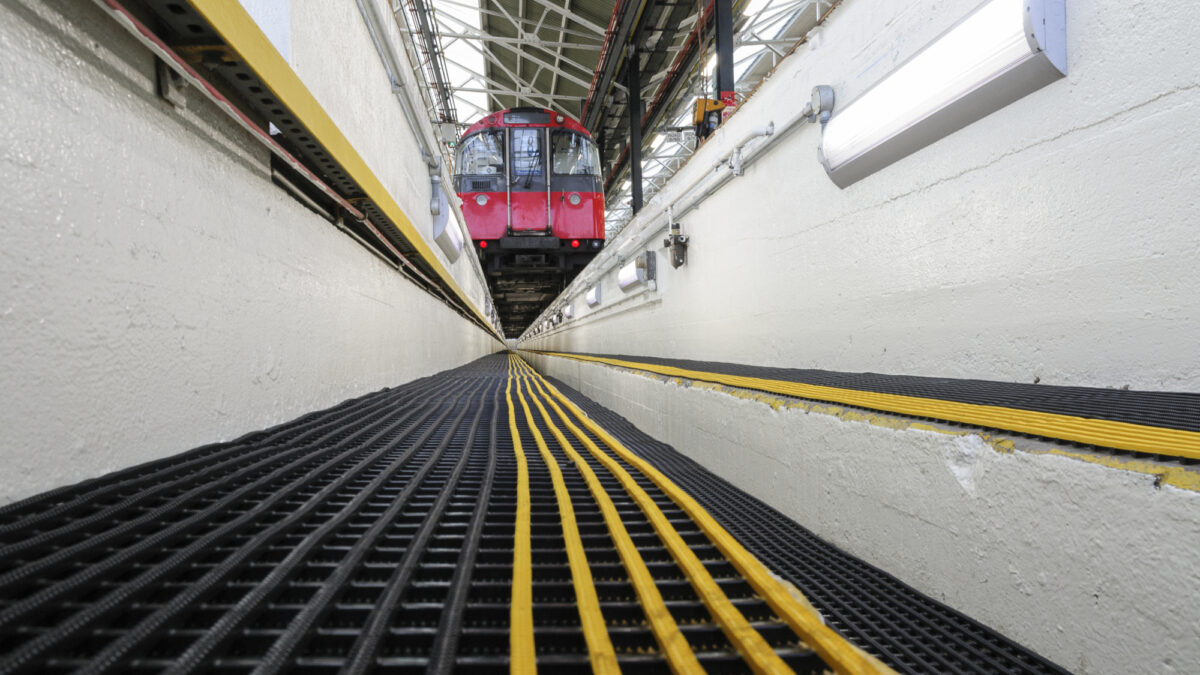 Trackgrip is designed for railway maintenance areas and construction sites.
